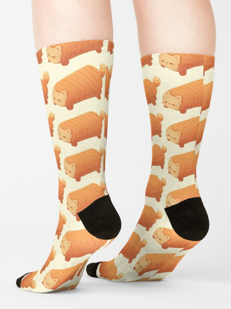 Alternate view of Cat Loaf - Meow Bread Socks