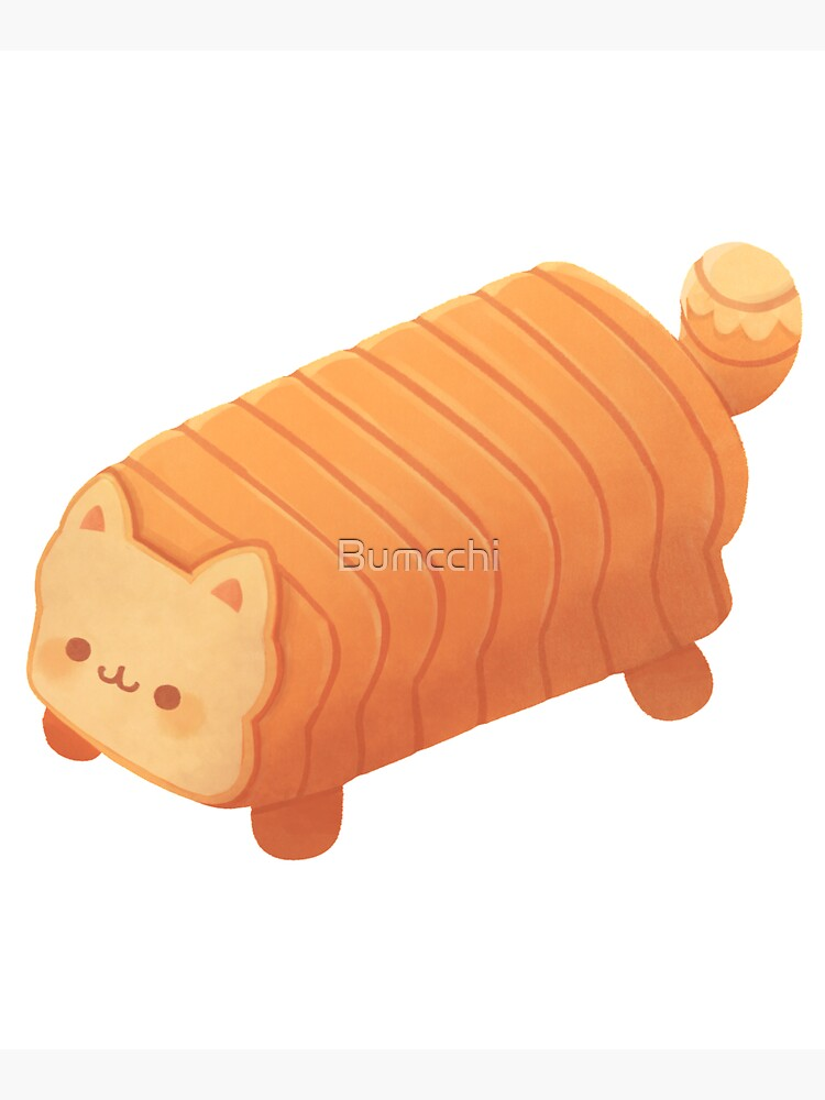 Cat Loaf - Meow Bread by Bumcchi