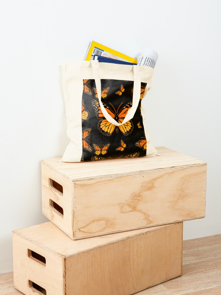 Alternate view of Monarch Butterfly Rapsody Tote Bag