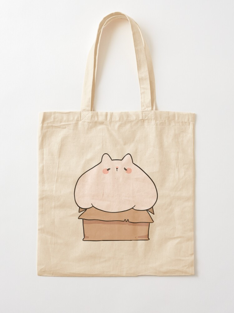 Alternate view of If I fits, I sits. Tote Bag