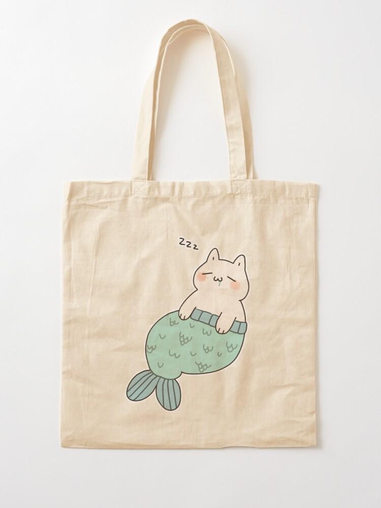 Alternate view of Sleeping Catfish Tote Bag