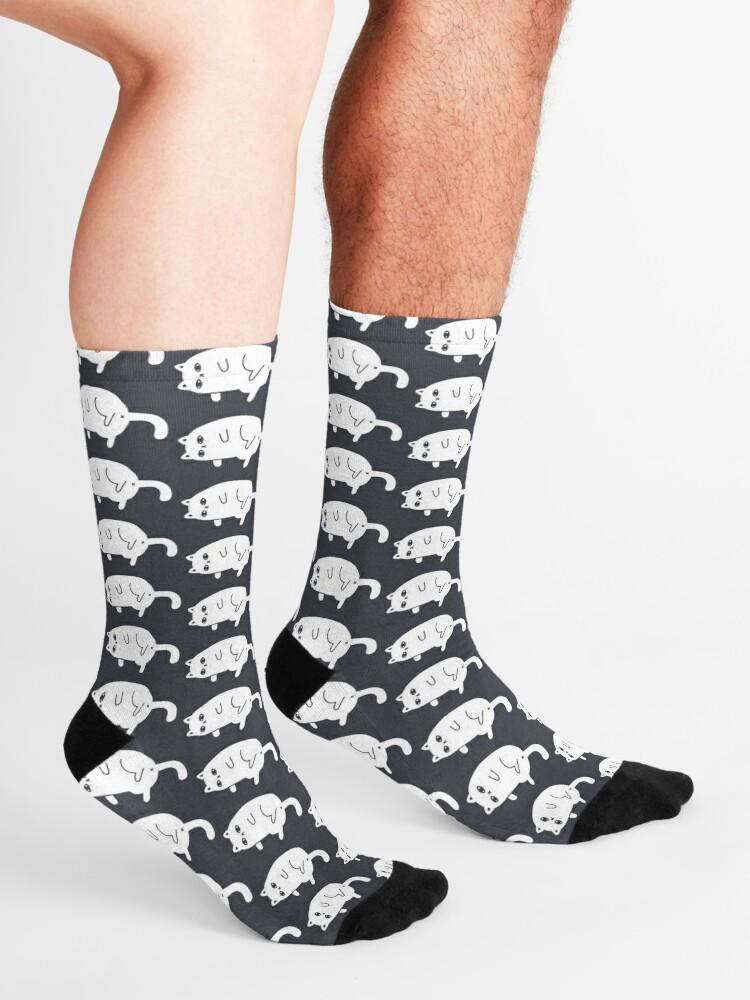 Alternate view of Depression Cat Socks