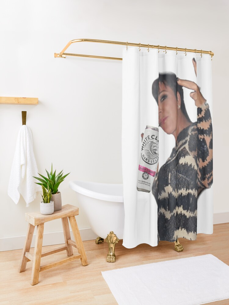 Alternate view of Kris Claw Shower Curtain