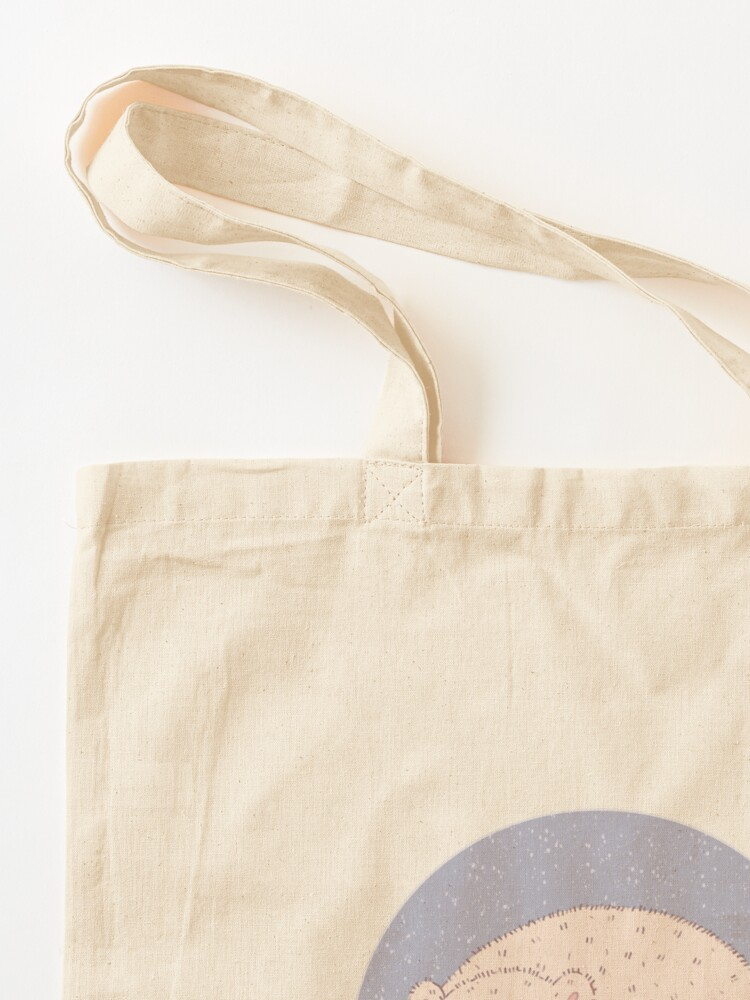 Alternate view of Sleeping Polar Bear  Tote Bag