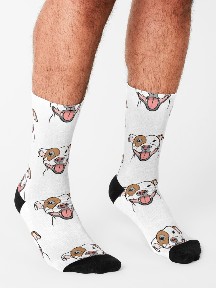 Alternate view of Happy Go Lucky Pit  Socks