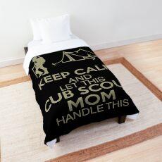Cub Scout Mom Comforter