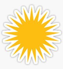 Yezidi Sun  Sticker