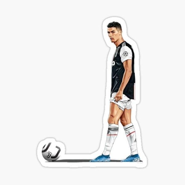 Acuarela Ronaldo Pegatina