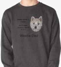 Westie dad 2 Pullover