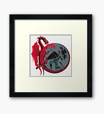 Dragon Slayer Framed Print