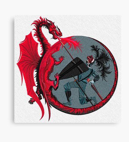 Dragon Slayer Canvas Print