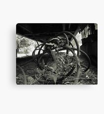Steam Donkey Project #188 Canvas Print