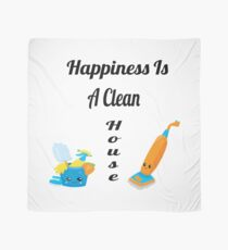 Happiness Is A Clean House Gifts Scarf