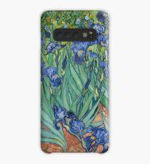 Van Gogh Irises Fine Art Impressionism Painting Case/Skin for Samsung Galaxy