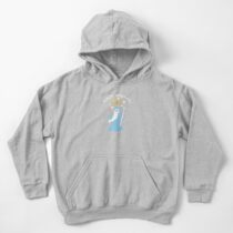 Magical Pizza Wizzard Kids Pullover Hoodie
