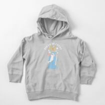 Magical Pizza Wizzard Toddler Pullover Hoodie
