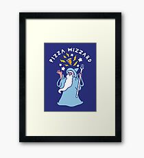 Magical Pizza Wizzard Framed Print