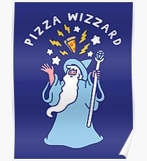 Magical Pizza Wizzard Poster