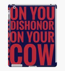 DISHONOR! iPad Case/Skin