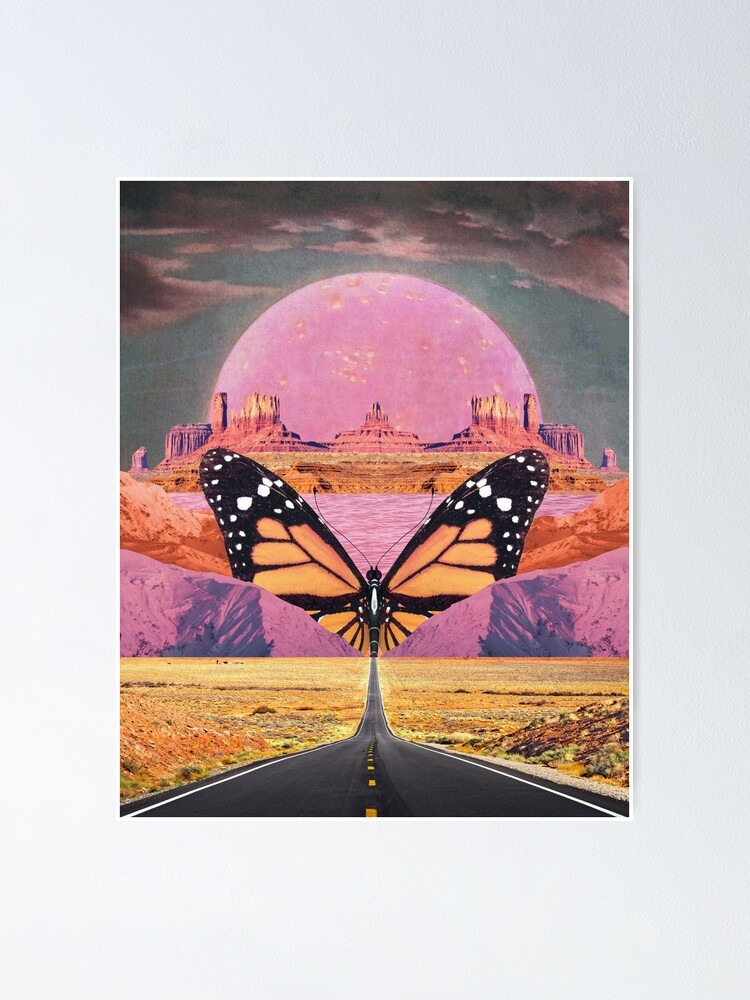 Alternate view of Westward Flight Poster