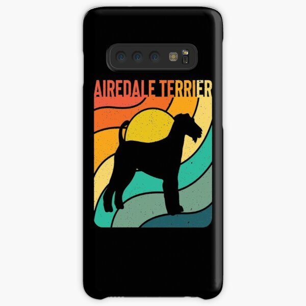 Airdale Terrier Dog Vintage Gift Pet Lover Samsung Galaxy Snap Case