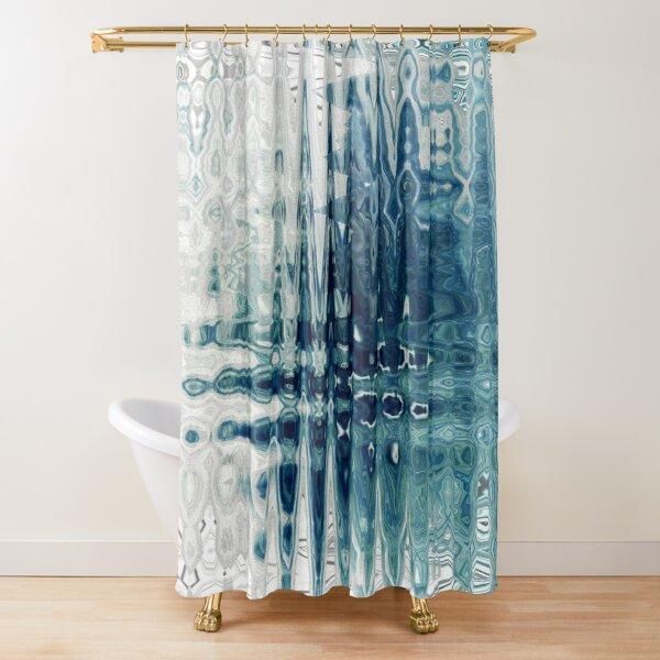 Cool Vibe Shower Curtain