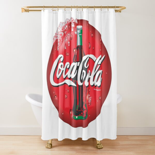 coca cola merch Shower Curtain