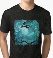 Rainy evening sky Tri-blend T-Shirt