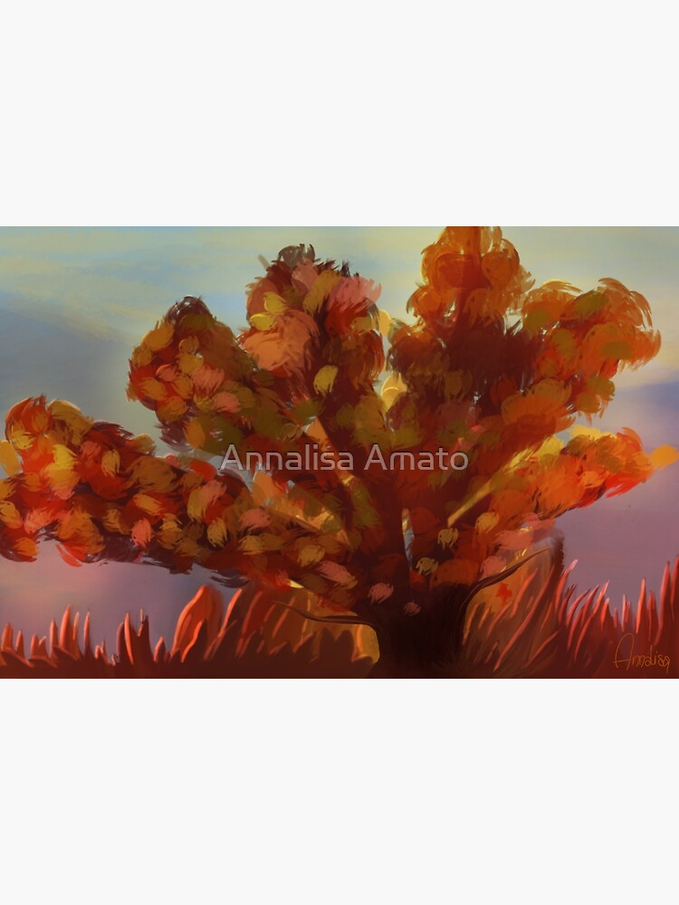 red tree by annalisaamato