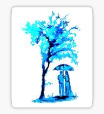 The Watercolour Tree Glossy Sticker