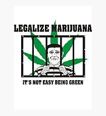 Legalize Marijuana Photographic Print
