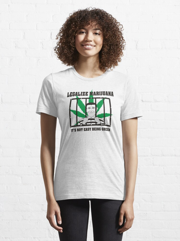 Alternate view of Legalize Marijuana Essential T-Shirt