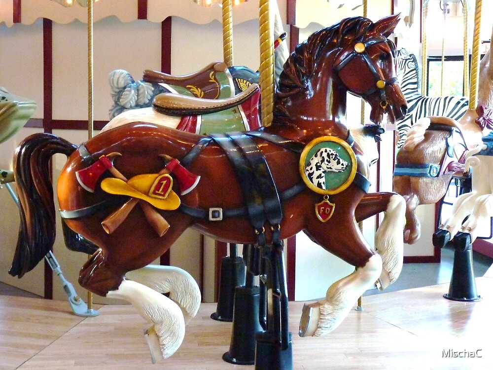 Carousel Fireman Pony by MischaC