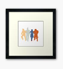 Off to see the Wizard. Framed Print