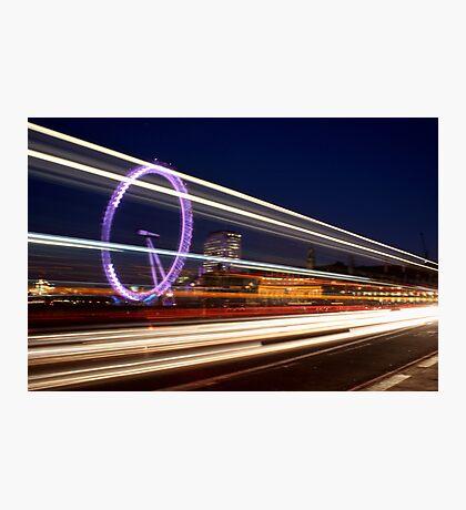 London Lines Photographic Print