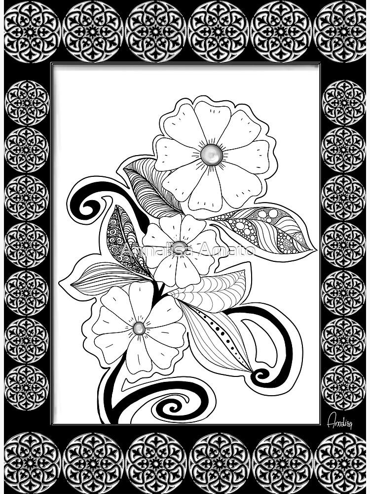 Zen Flowers by annalisaamato