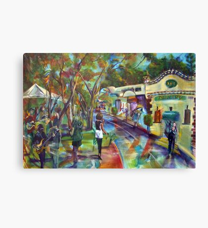 Art Bank Art Gallery Canvas Print