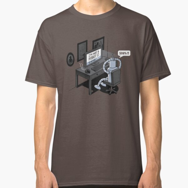 Robot Problems Classic T-Shirt