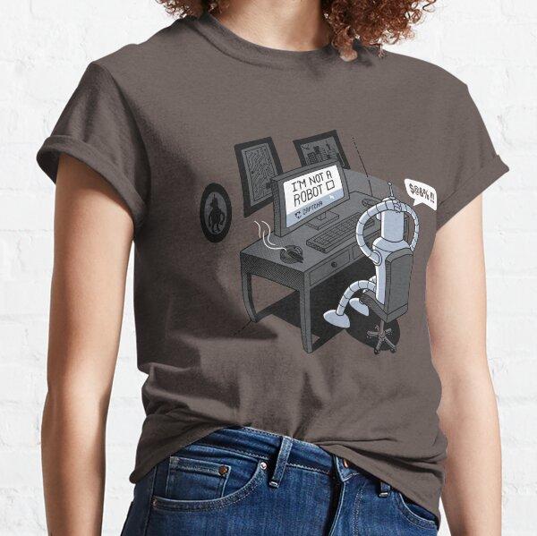 Robot Problems Classic T-Shirt