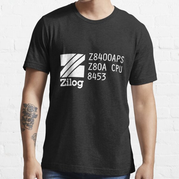 Vintage Zilog Z80 Microprocessor Markings Essential T-Shirt