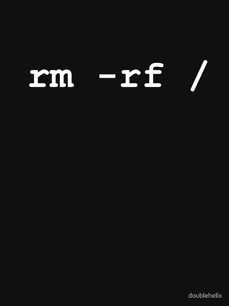 rm -rf / | Unisex T-Shirt