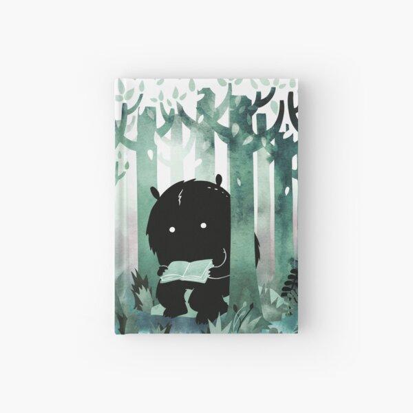 A Quiet Spot in Green Hardcover Journal