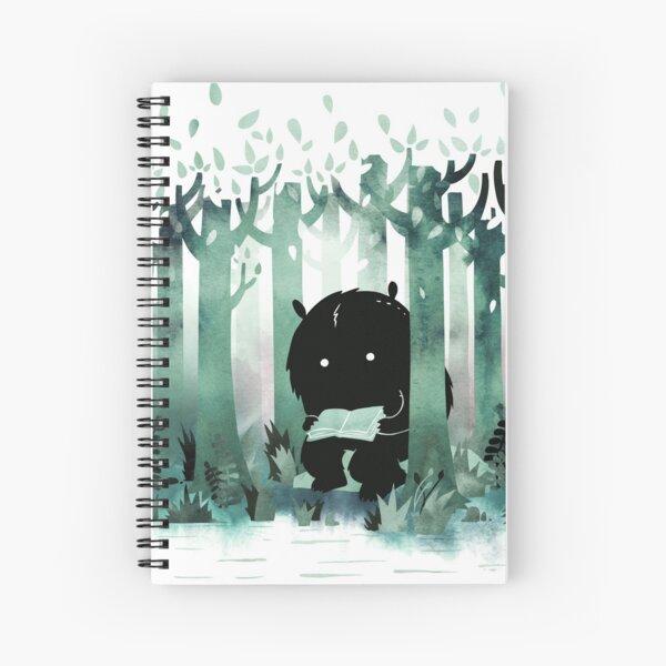 A Quiet Spot in Green Spiral Notebook