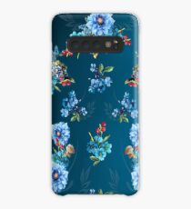 Cornflower Blues in Watercolor Case/Skin for Samsung Galaxy