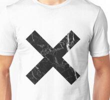 Black Marble - X Unisex T-Shirt