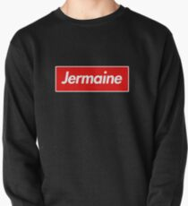 Jermaine Name Label - Gift For Male Named Jermaine Pullover Sweatshirt