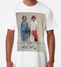 Two fashionable women in Washington D.C. 1927 Long T-Shirt