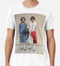 Two fashionable women in Washington D.C. 1927 Premium T-Shirt