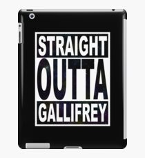 Straight Outta Gallifrey iPad Case/Skin