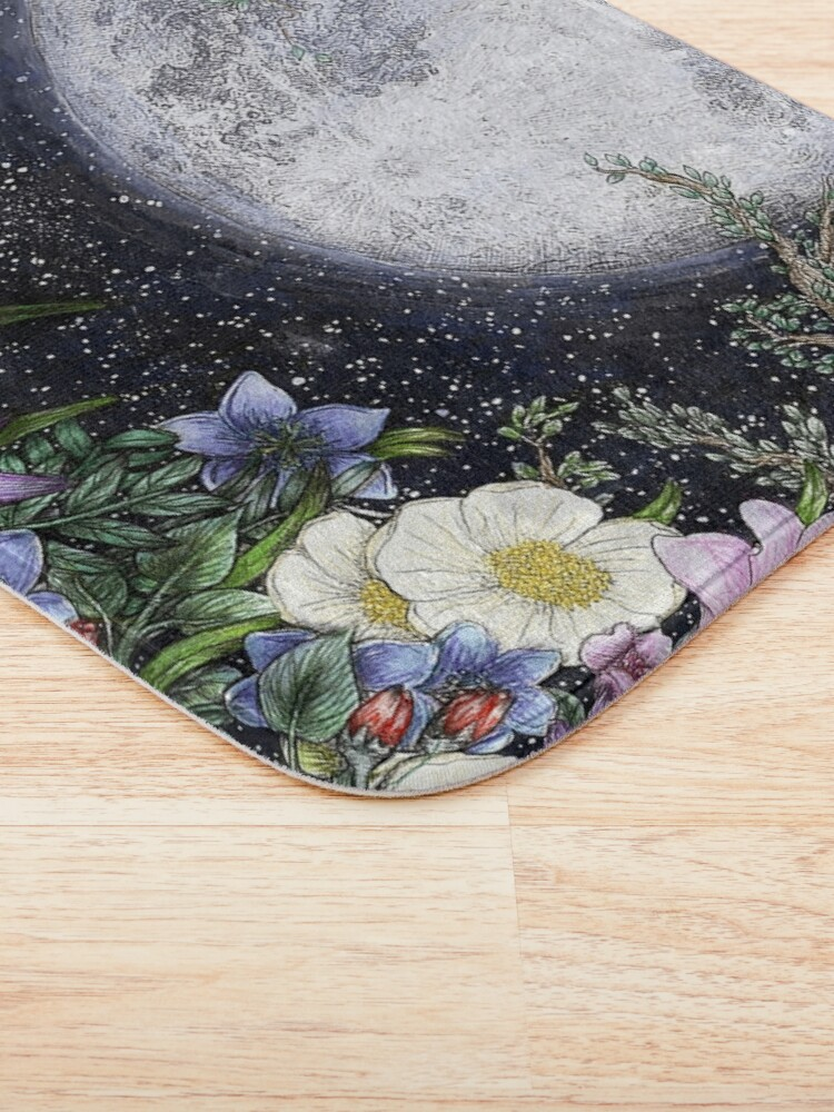Alternate view of Midnight in the Garden II Bath Mat